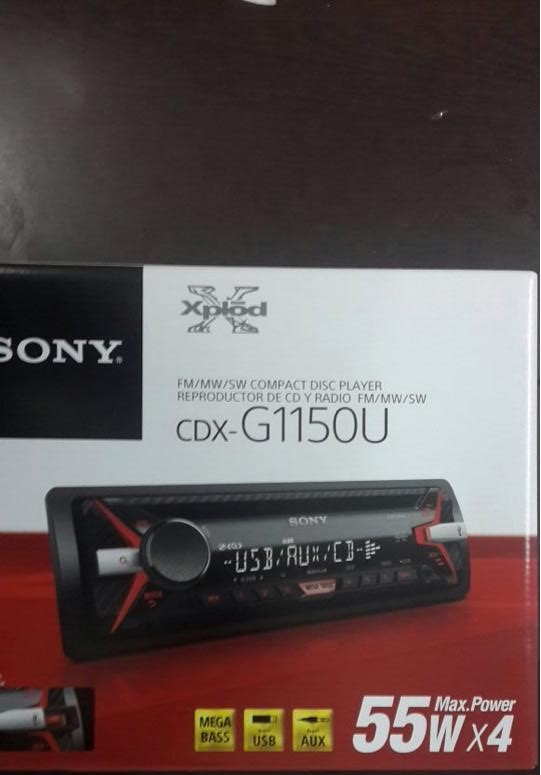 SONY CDX G1150U USB SD CD MP3